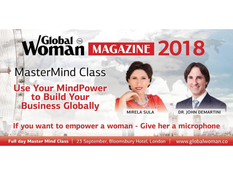 Mastermind Class with Mirela Sula and Dr.John Demartini