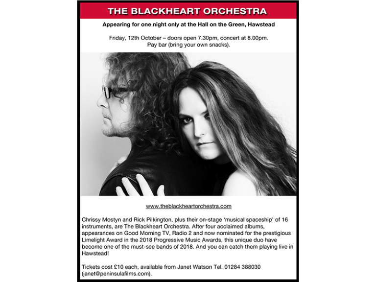 The Blackheart Orchestra in Concert