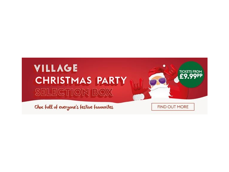 Village Christmas Party Selection Box