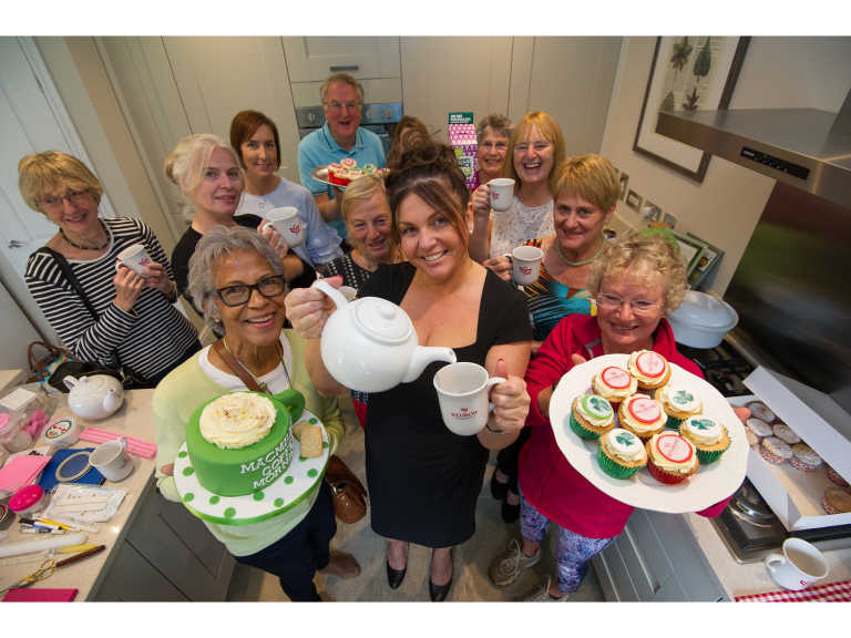 Huntingdon development will donate as you eat cake
