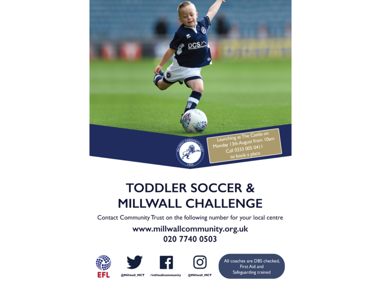 Millwall Toddler Soccer