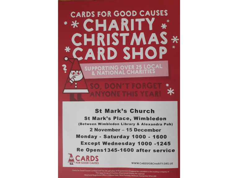 Cards for Good Causes Pop-Up Shop