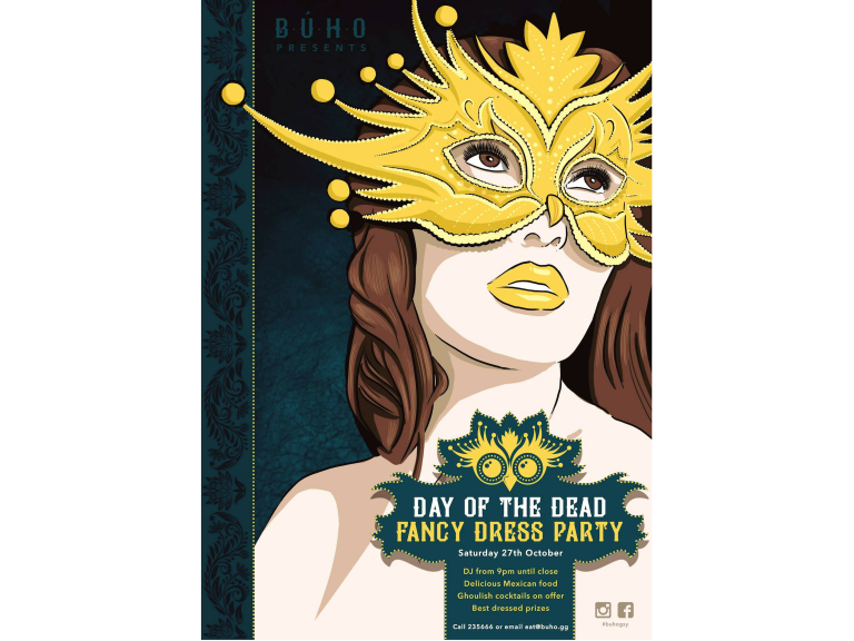 BUHO PRESENTS DAY OF THE DEAD