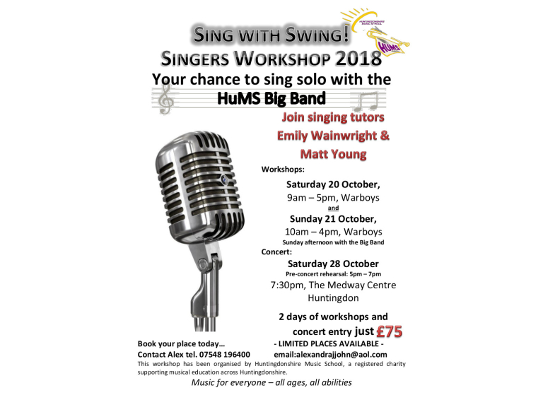 Sing With Swing Concert