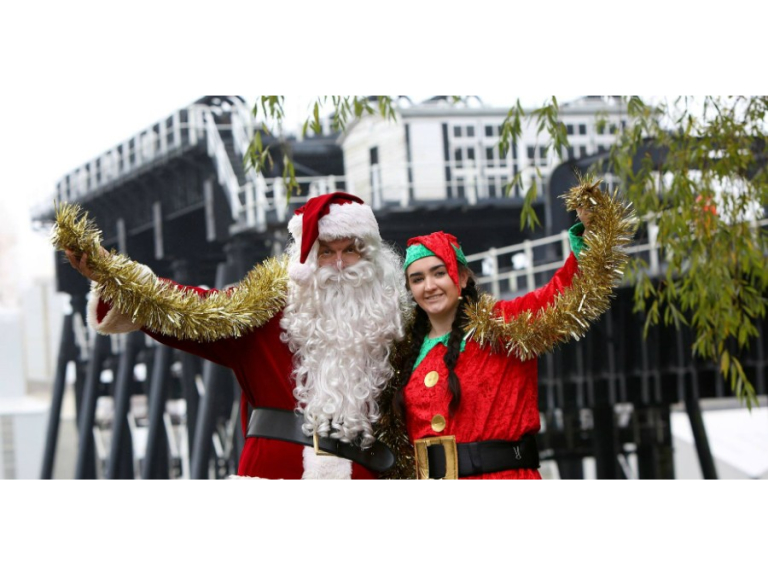 Santa Cruises at Anderton Boat Lift