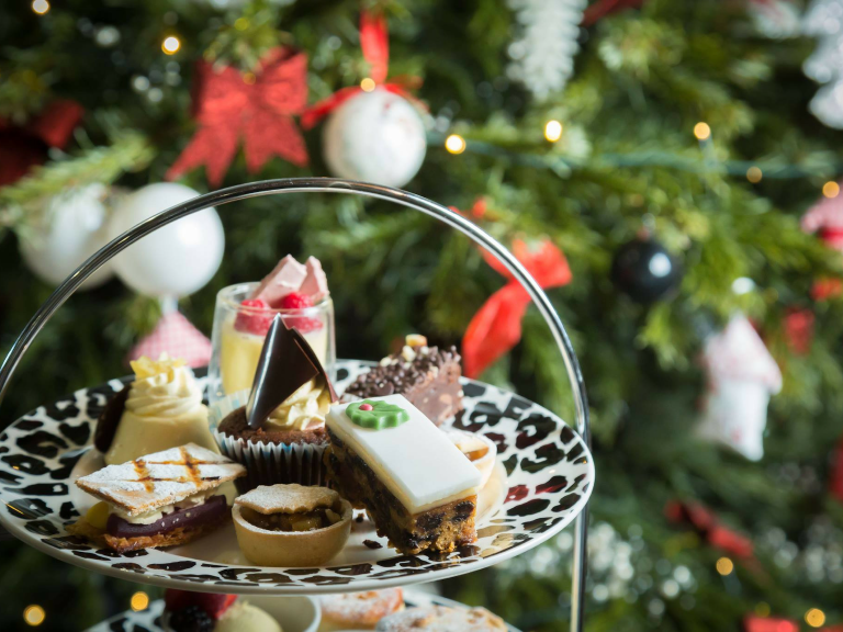 FESTIVE AFTERNOON TEA AT THE OGH