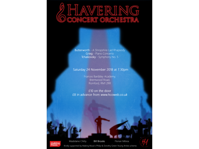Havering Concert Orchestra Mixes Words and Music