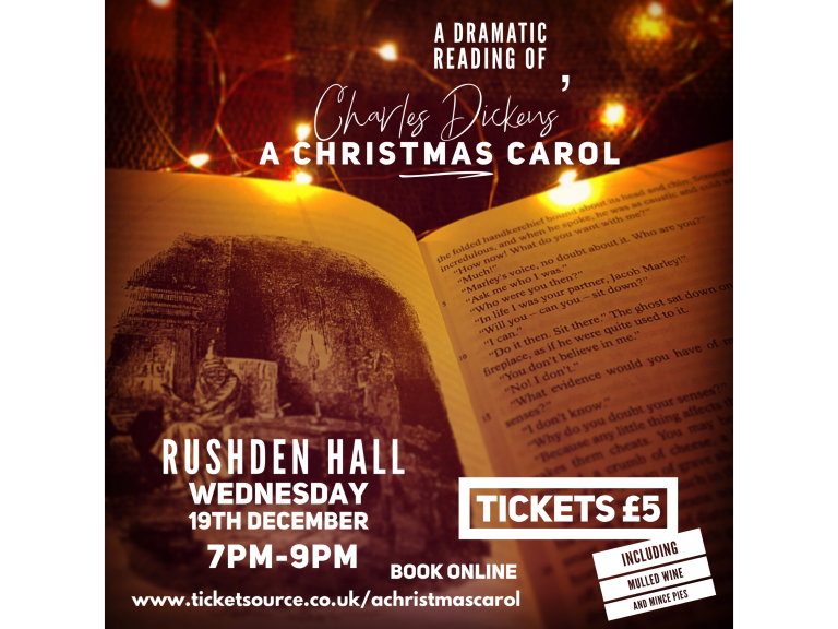 A dramatic reading of Charles Dickens' 'A Christmas Carol'