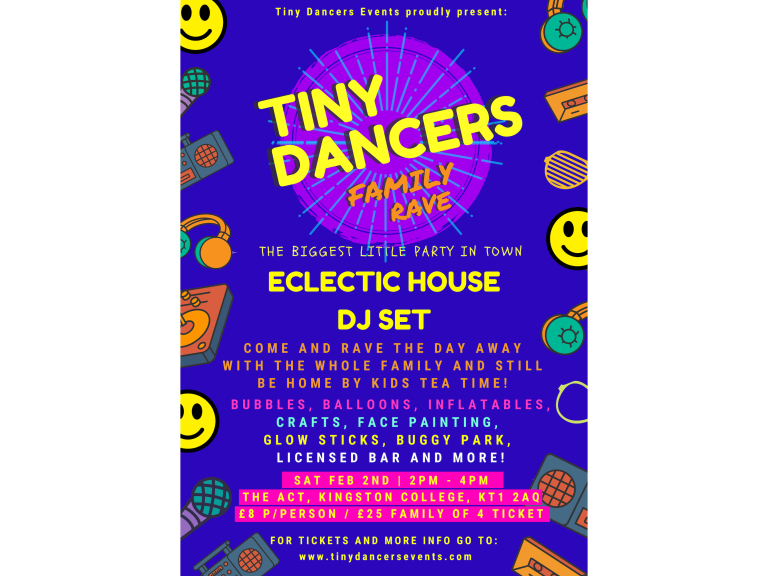 TINY DANCER FAMILY RAVE ECLECTIC HOUSE DJ SET