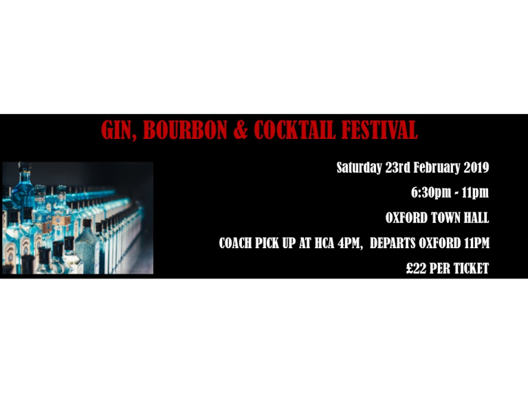 Gin, Bourbon and Cocktail Festival