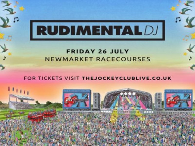 Rudimental DJ Set at Newmarket Racecourses