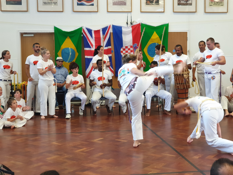 Brazilian Capoeira Classes for Adults and Kids