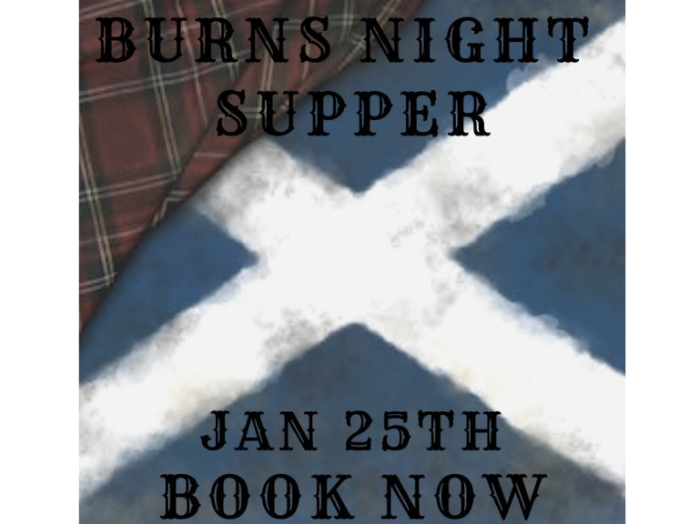Burns Night is coming...