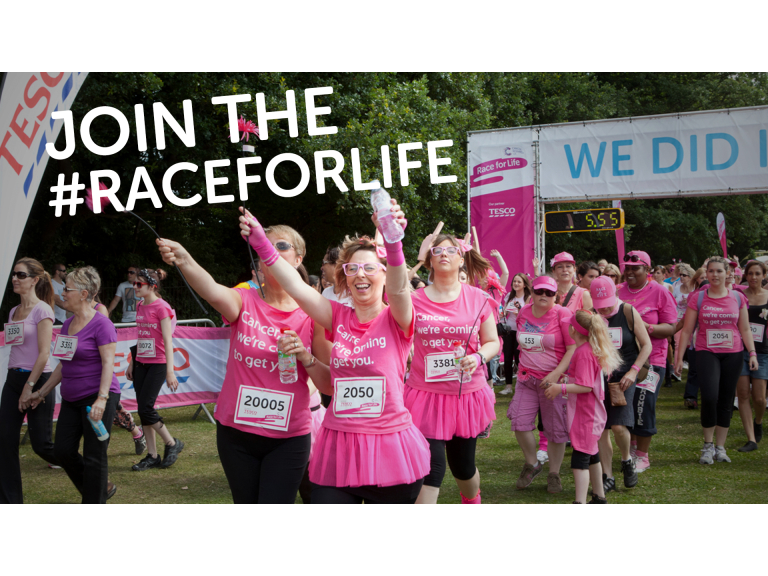 Cancer Research UK's Race for Life 5K