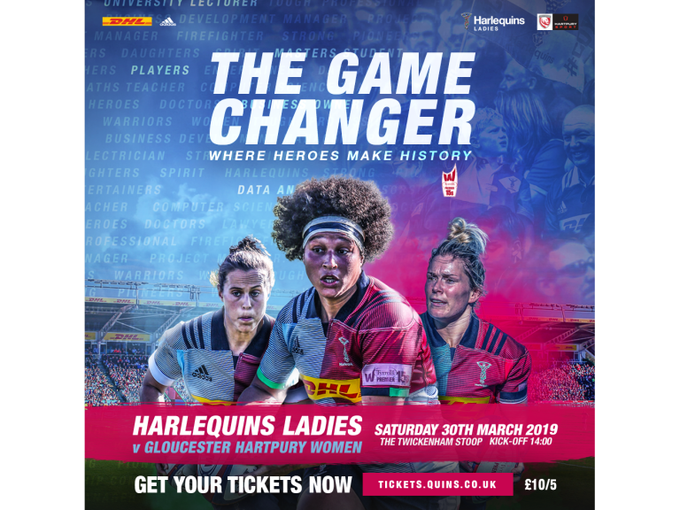 Harlequins 'The Game Changer'