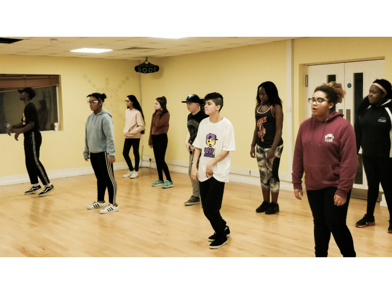 13 to 18 years old street dance classes