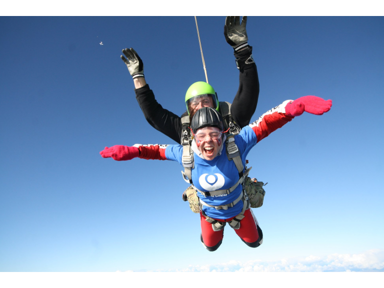 The Christie charity Skydive
