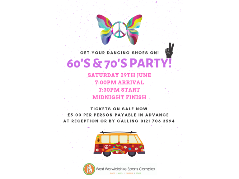 60's & 70's Party Night