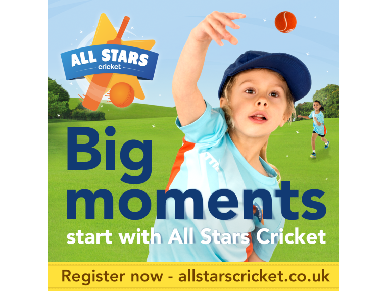 All Stars Cricket for 5-8 year olds