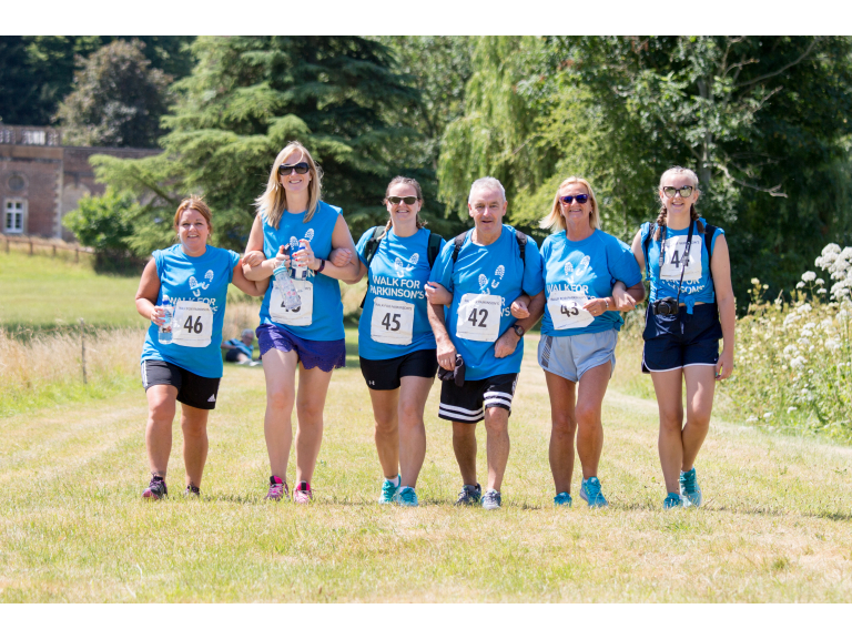 Walk for Parkinson's - Wandlebury Country Park 2019