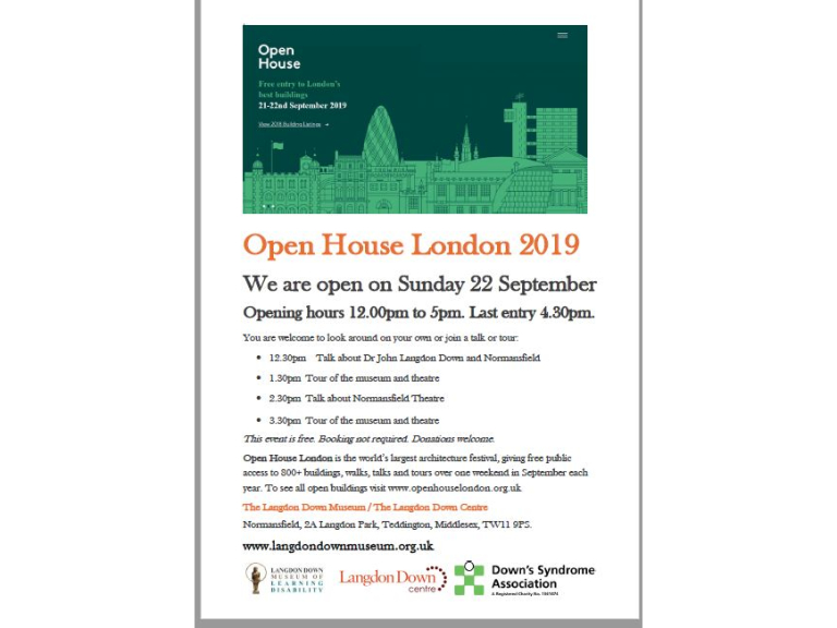 Open House London 2019