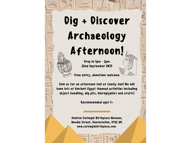 Dig and Discover Archaeology Afternoon