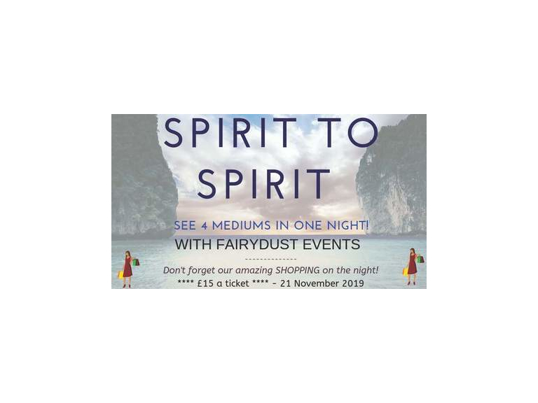 Spirit To Spirit 21 November @ Acregate Club