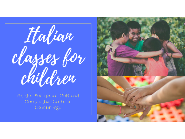 Italian classes for children at La Dante in Cambridge
