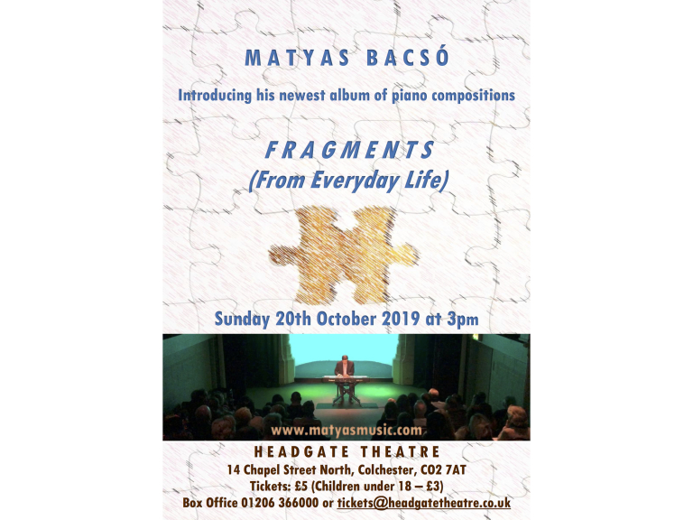 Fragments (From Everyday Life) - Piano Concert - Matyas Bacso