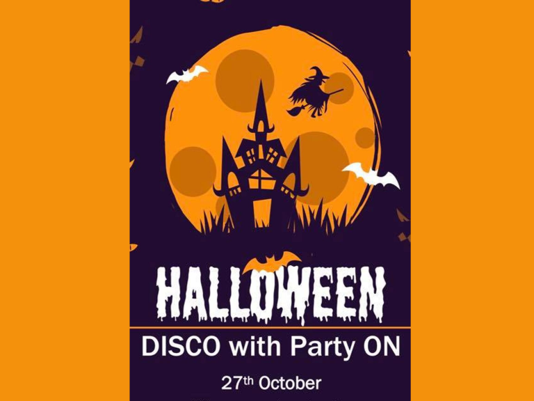 HALLOWEEN DISCO WITH PARTY ON