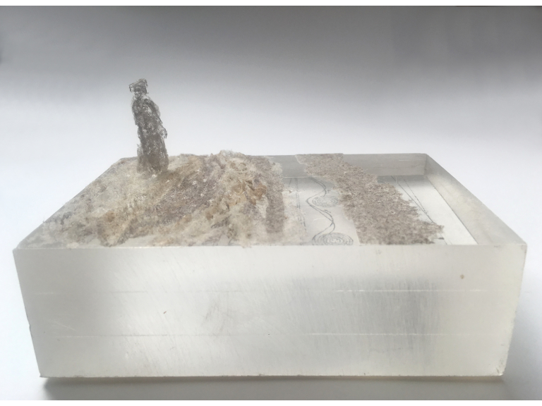 'No Stone Left Unturned': an exhibition of dust sculptures and drawings