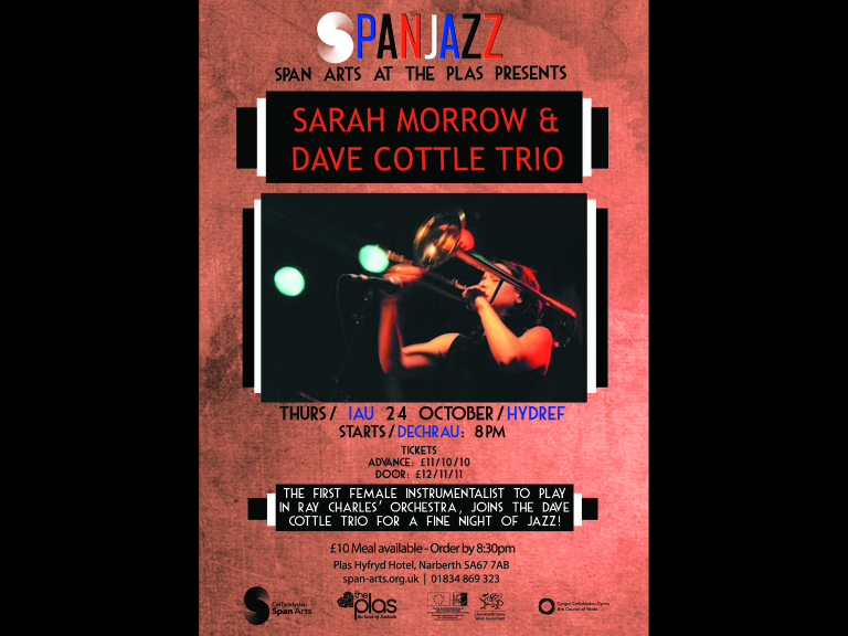 Span Jazz: Sarah Morrow & Dave Cottle Trio