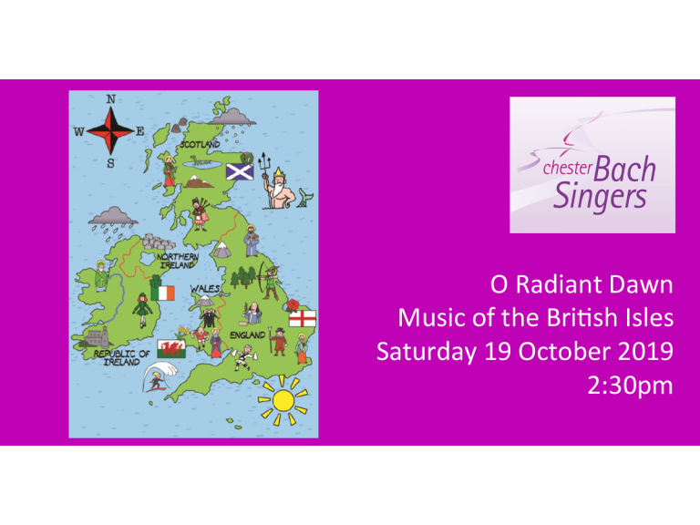 O Radiant Dawn – Music of the British Isles