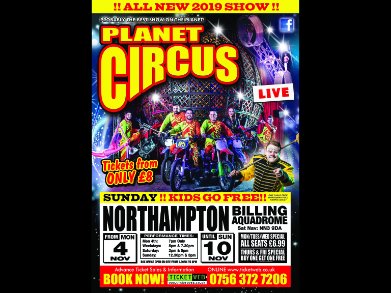 Planet Circus The WOW Factor! The Carrs, Mansfield!