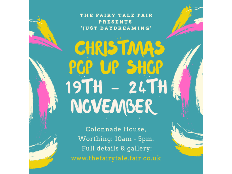 Just Daydreaming - Christmas Pop Up Shop, Worthing