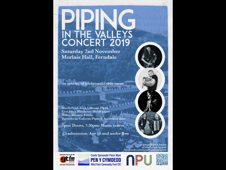 Piping in the Valleys