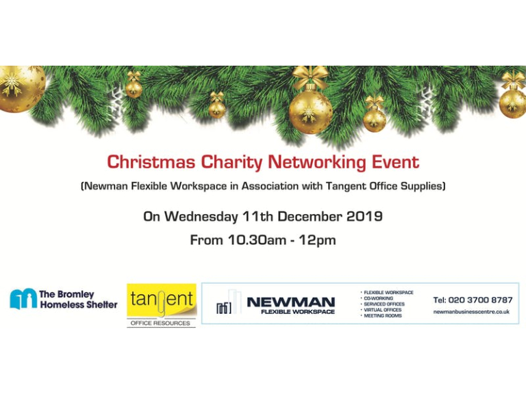 Christmas Charity Fund Raising event at Newman Flexible Workspace