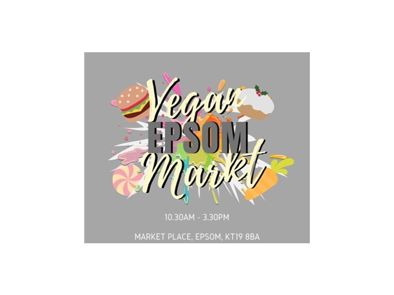 The #Epsom Vegan Market with @Go_Epsom @Surrey_Vegan #VeganMarket