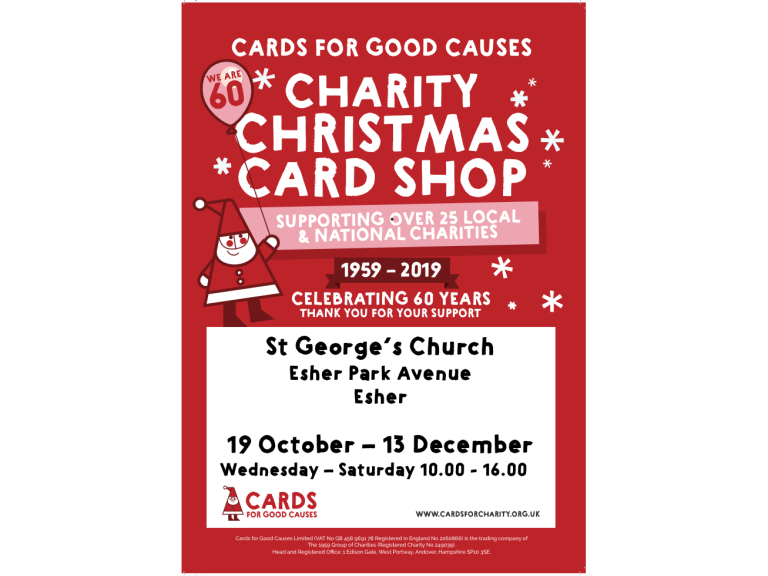Charity Christmas Card Shop