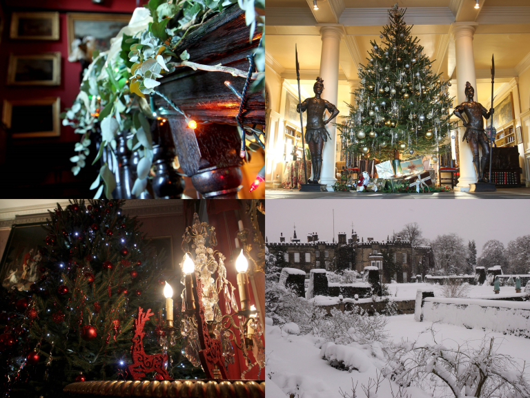 Christmas Hall Tours at Renishaw Hall