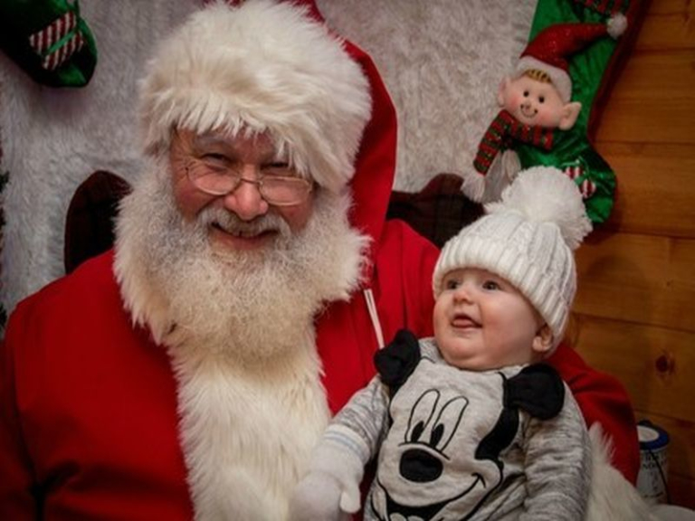 Visit Santa's Grotto at St Tydfil Shopping Centre