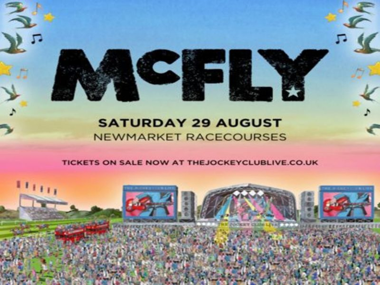 McFly live at Newmarket Racecourses!