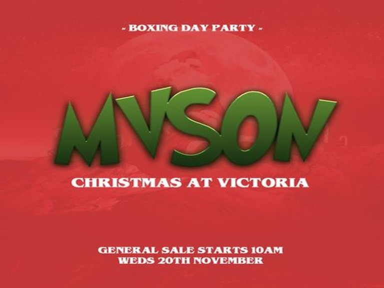 MVSON Presents: Boxing Day