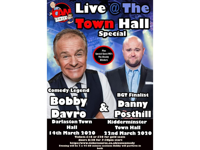 Live @ The Town Hall Special with Bobby Davro & Danny Posthill