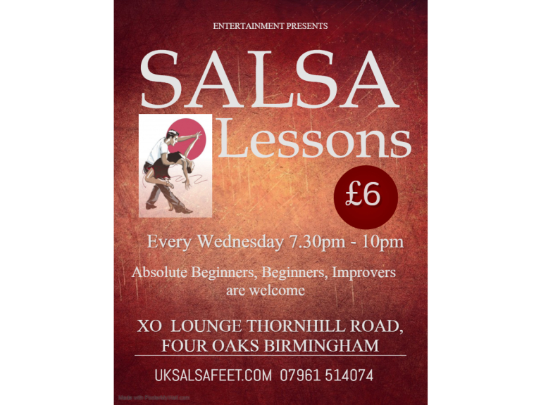 Streetly Salsa  Beginners classes
