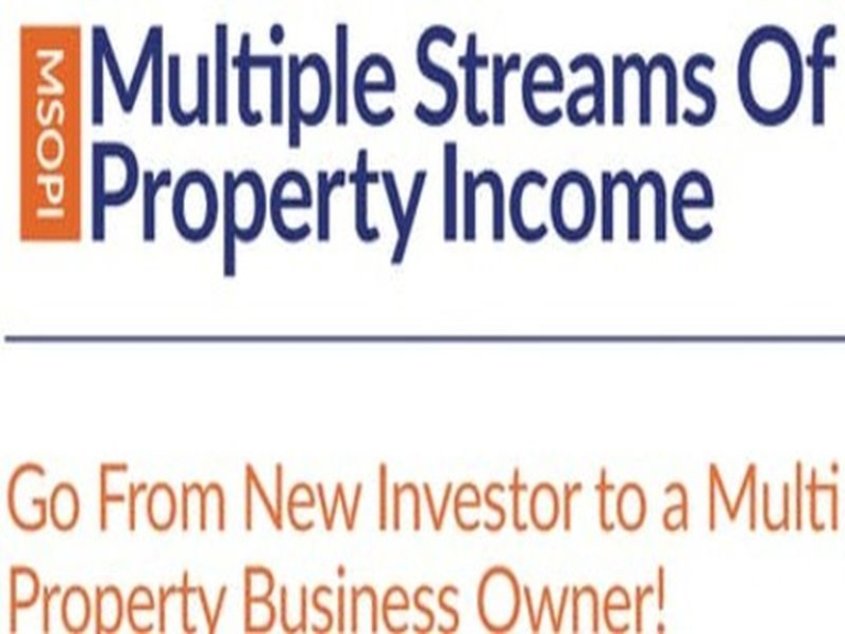Multiple Streams of Property Income - 3 Day Course