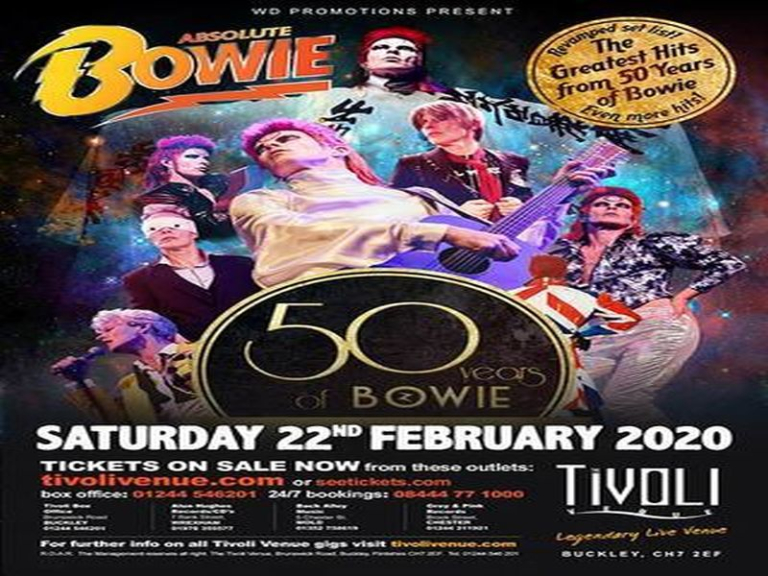 Absolute Bowie at Tivoli Buckley