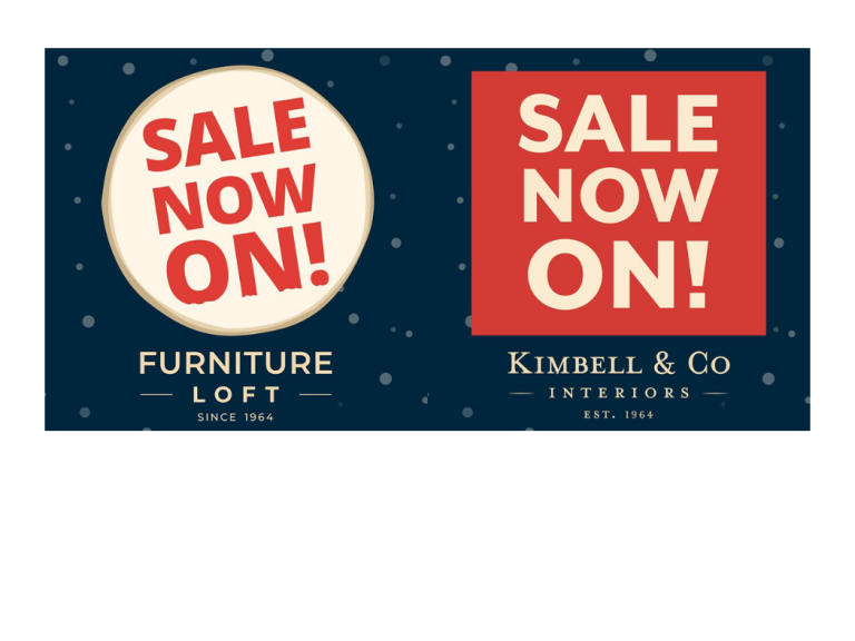 FINAL REDUCTIONS - SALE STILL ON at FURNITURE LOFT!