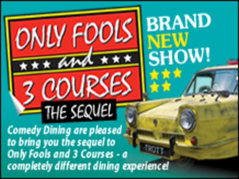 Only Fools and 3 Courses The Sequel Comedy Night Lumley Castle