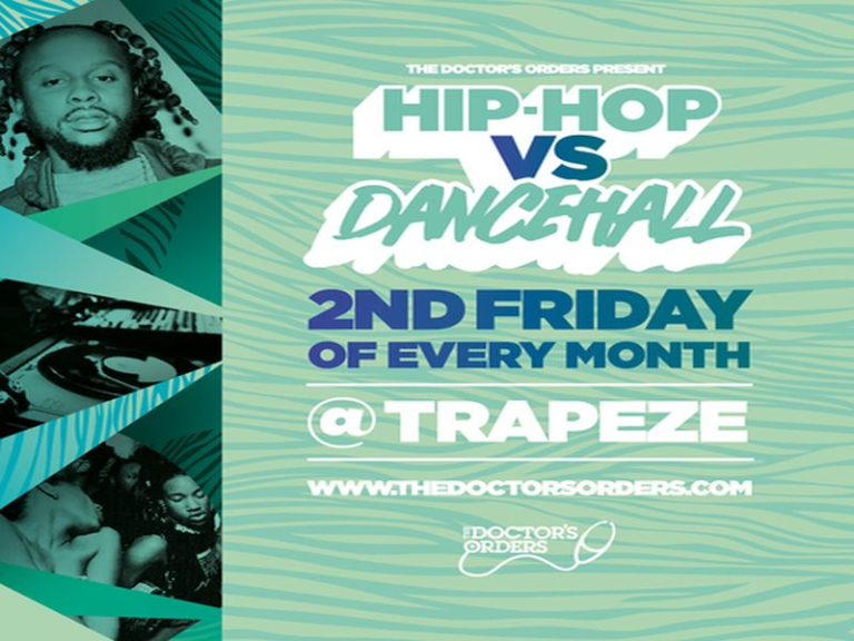 Hip-Hop vs Dancehall @ Trapeze Basement - Fri 14th August